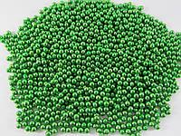 Посыпка серебрянно - зеленая Ø 5 мм