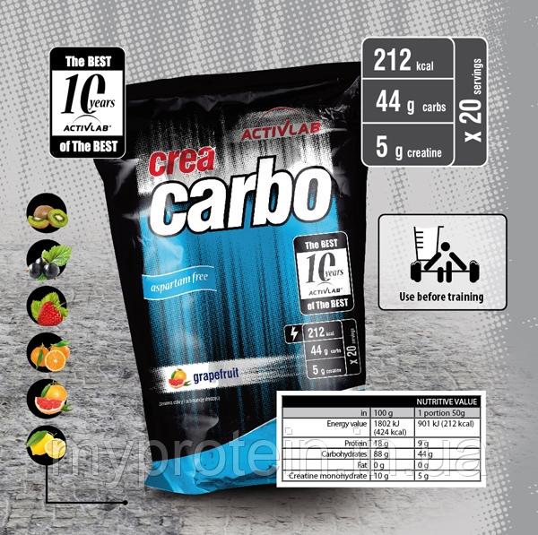 Activlab Карбо (углеводы) Crea Carbo (1 kg )