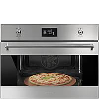 """Встраиваемый духовой шкаф Smeg SFP4390XPZ с функцией """"пицца"""""""