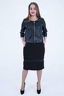 Женский костюм - платье с пиджаком 50 52 54 56