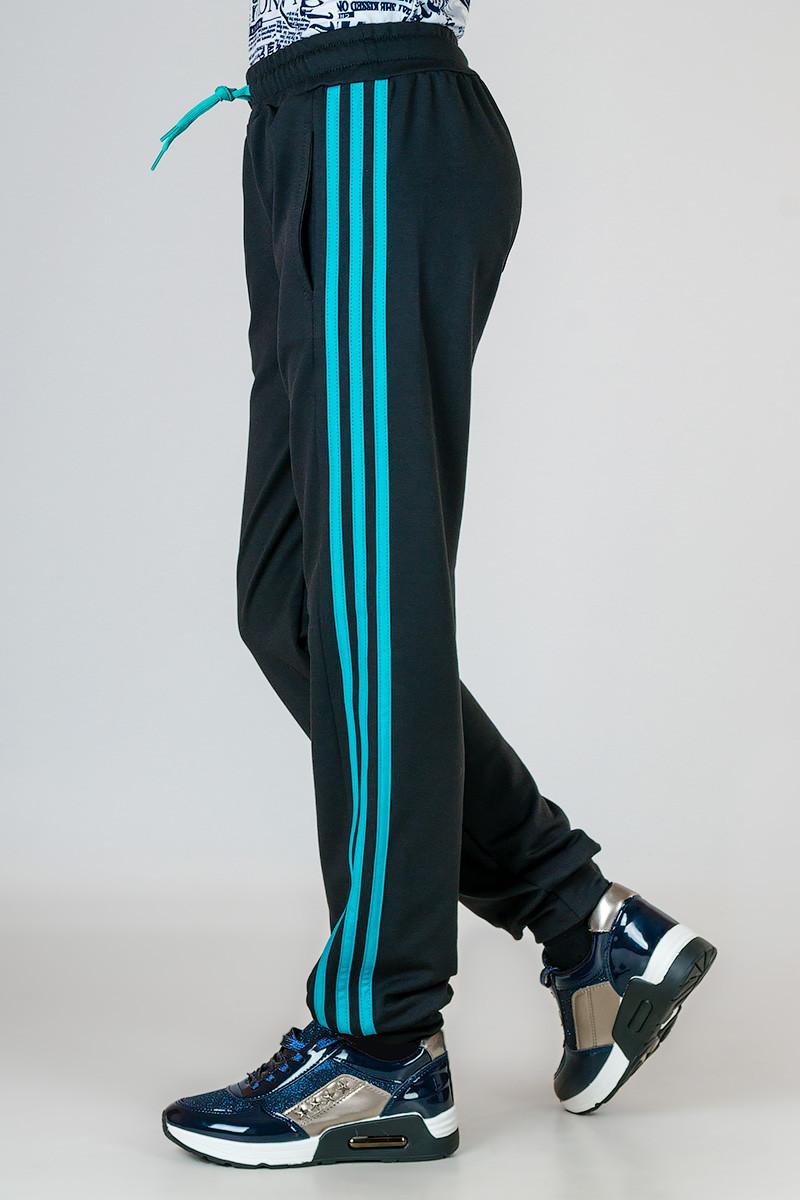Детские спортивные штаны с яркими лампасами