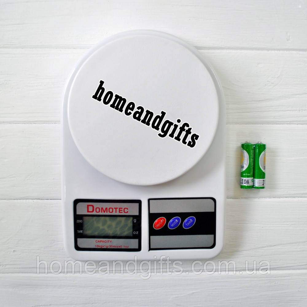 Весы кухонные Domotec SF-400