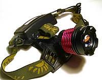 Налобный аккумуляторный фонарь Police CREE XM-L T6 LED, фото 1
