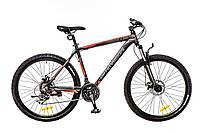 """Велосипед 26"""" Optimabikes F-1 AM 14G DD Al черно-серо-красный (м) 2016"""