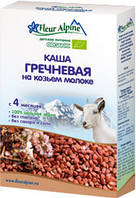 Детская каша Гречневая на козьем молоке, 200 гр., ТМ Fleur Alpine
