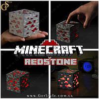 """Ночник Minecraft - """"Redstone"""" - 7.5 см. , фото 1"""