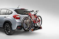 Крепление для 2х велосипедов на тягово-сцепное устройство