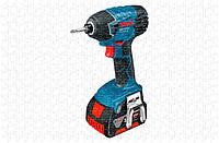 Аккумуляторный ударный гайковёрт Bosch GDR 18 V-LI Professional