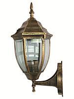 Уличный светильник настенный Lemanso PL5201 античное золото