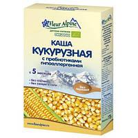Детская каша Кукурузная гипоаллергенная с пребиотиками, 175 гр., ТМ Fleur Alpine