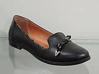 Удобные женские туфли натуральная кожа