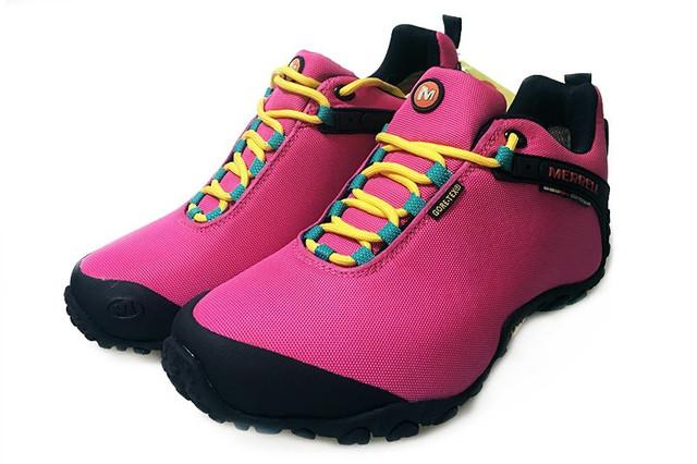 Демисезонные женские кроссовки Merrell Continuum Goretex Pink Black