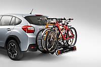 Крепление для 3х велосипедов на тягово-сцепное устройство