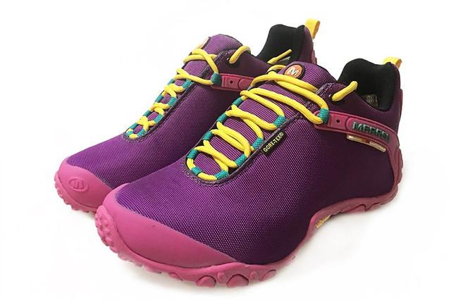 Демисезонные женские кроссовки Merrell Continuum Goretex Purple