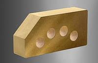 Облицовочный кирпич «Литос» Гладкий угловой пустотелый