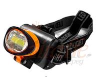 Налобный фонарик 536 B-COB, светодиодный фонарик