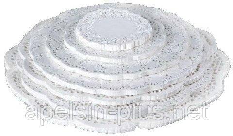 Кондитерские ажурные салфетки 37 см (набор 100 штук)