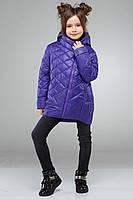 Яркая детская демисезонная куртка спортивного стиля Мия