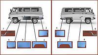 Кузовные детали УАЗ 452,2206,3741,3962,3303,Буханка
