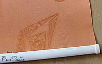 Рулонні штори тканина Ікеа2086 оранжевий колір 40см