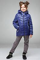 Модная детская куртка для девочек Майя дополнено отстегивающимся капюшоном