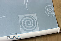 Рулонні штори тканина Ікеа1802 голубий колір 40см