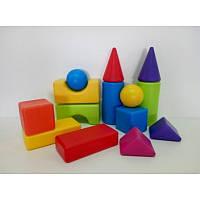 Конструктор для малышей «Городок» 02-501 Kinderway, 14 дет