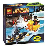 Конструктор Bela серия Super Heroes 10225 Встреча с Пингвином (аналог Lego Super Heroes 76010)