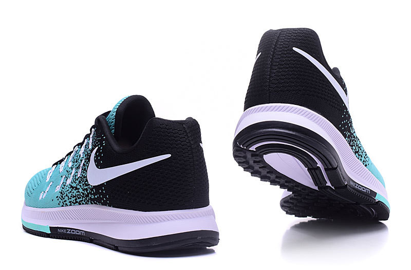 ... Женские кроссовки Nike Air Zoom Pegasus 33 Knit Women Black Jade White  Shoes. интернет магазин ... 0c1ed99f602b5