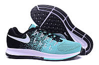 Женские кроссовки Nike Air Zoom Pegasus 33 Knit Women Black Jade White Shoes. интернет магазин, найк пегас