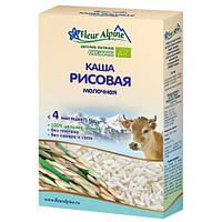 Детская каша молочная Рисовая, 200 гр., ТМ Fleur Alpine