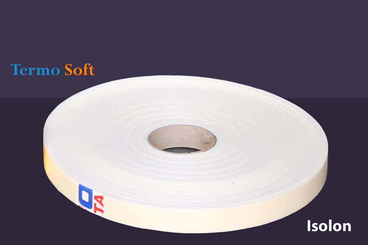 Уплотнительная лента самоклеющаяся (теплоизоляционная, звукоизоляционная), 3мм*30мм*30м.п.