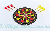 Мишень для игры в дартс Baili 62325: диаметр 30см, 6 дротиков