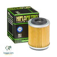 Масляный фильтр Hiflo HF143 для MBK, Yamaha.