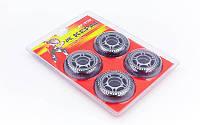 Колеса для роликов  (70 мм) 4 шт полиуретан Kepai без подшипников