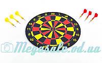 Мишень для игры в дартс Baili 65325: диаметр 38см, 6 дротиков