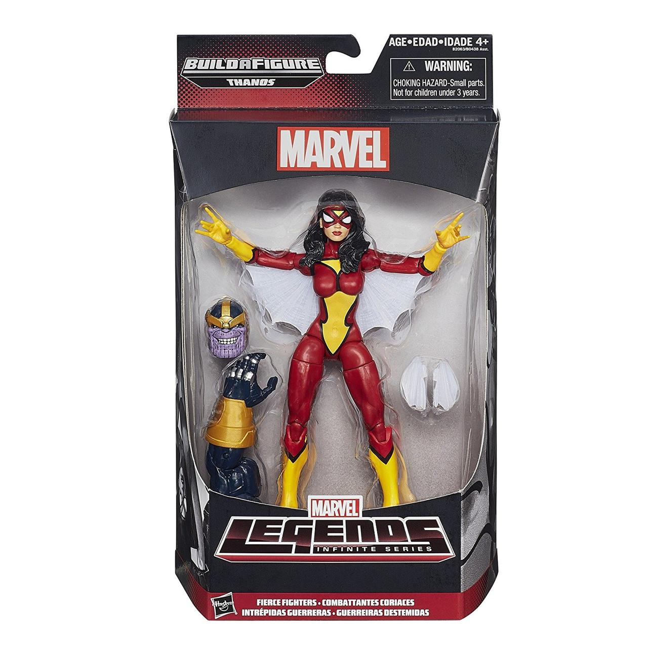 Фигурка Женщина-паук от Марвел - Spider-woman, Marvel Legends, Infinite Series Thanos, Hasbro