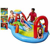 Надувной детский игровой центр Intex Windmill Blow Play Center (Арт. 57449)