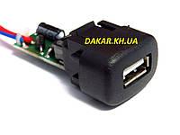 Универсальное зарядное устройство Штат USB 2,0 универсал для ВАЗ 2110, 2115, Калина, Газель, Шевроле Нива
