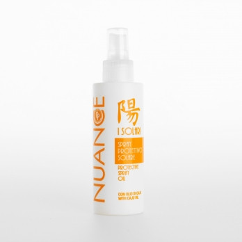 Защитное масло-спрей Nuance для волос и тела с маслом анакарда, 150 мл