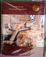Постельное белье 5D комплект (размер евро 200*220) Сатин