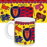Кружка с принтом Украинская тематика