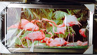 Картина Фламинго  (45*40 см) отличный подарок.  код 56012