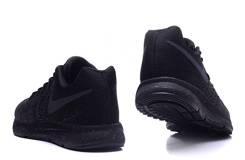 71326d27 ... Мужские кроссовки Nike Air Zoom Pegasus 33 Knit Men All Black. интернет  магазин кроссовок,