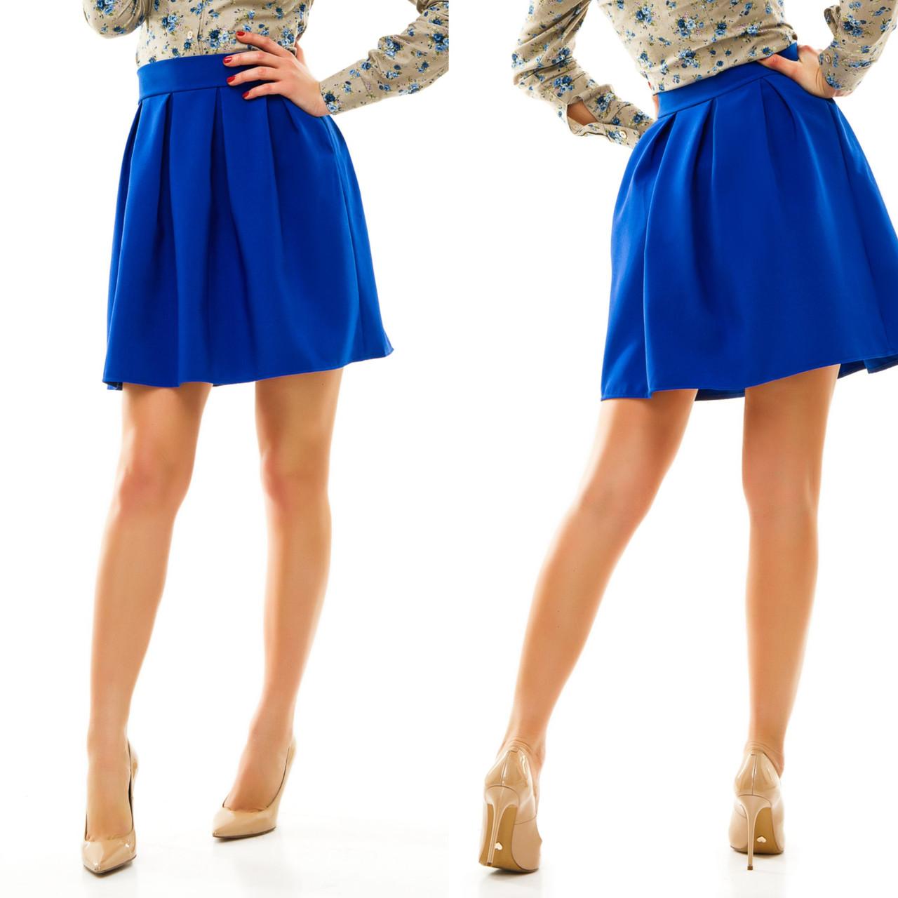 114ca145a48 Стильная женская юбка-колокол