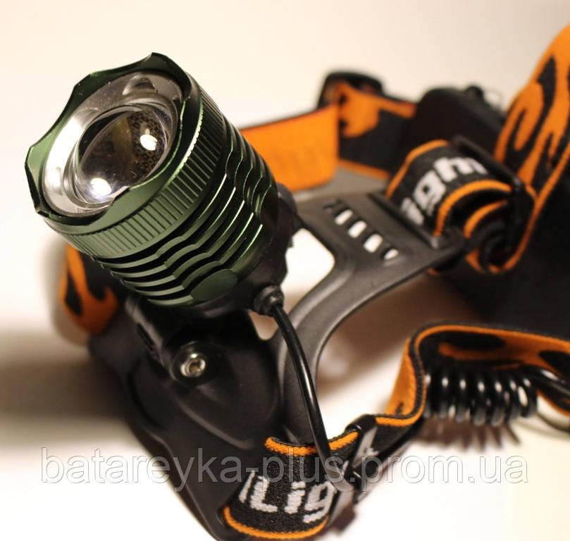 Налобный фонарик  CREE  T6