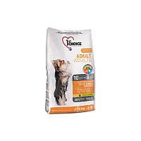Корм с курицей 7 кг сухой для собак мини и малых пород супер преиум 1st Choice (Фест Чойс)