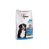 Корм с курицей 7 кг сухой для собак средних и крупных пород супер премиум 1st Choice (Фест Чойс)