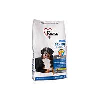 Корм 7 кг для пожилых или малоактивных собак средних и крупных пород сухой супер премиум 1st Choice (Фест Чойс)