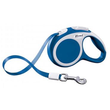 Поводок-рулетка FLEXI VARIO S лента (5 м; до 15 кг), синий